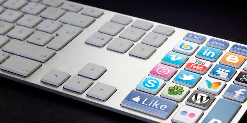 social media keybord