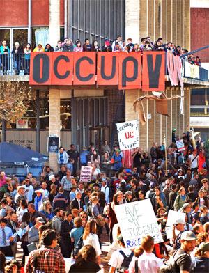 Occupy Cal (Nov 15), photo by Daniel Parks