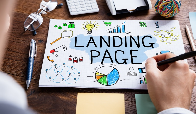 Landing page definition and description of different landing page types