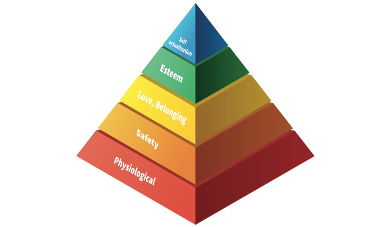 Maslow's hierarchy of needs / read on Ning blog