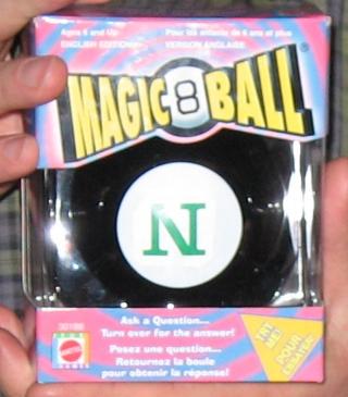 Magic Ning 8 Ball