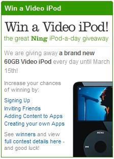 Win an iPod!