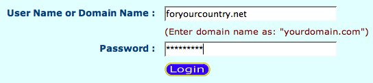 Using your Own Domain from Active-Domain.com 2