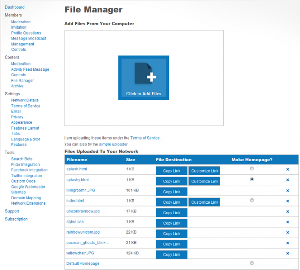 Introduction to the File Manager