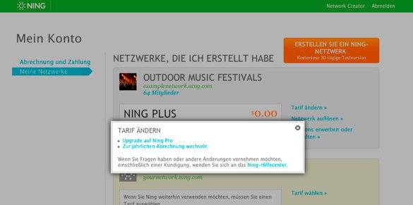 Upgraden Sie Ihr Ning-Plus-Netzwerk 2