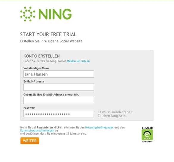 So erstellen Sie ein Ning-Netzwerk 3
