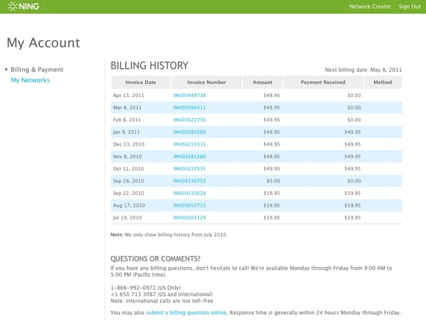 Manage Your Subscription and Billing Information 4