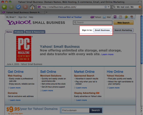 Use Your Own Domain with Yahoo Domains 1