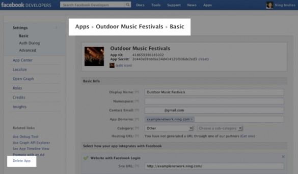 Troubleshoot Your Facebook Sharing App 4