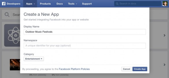 Enable Social Sign In with Facebook 3