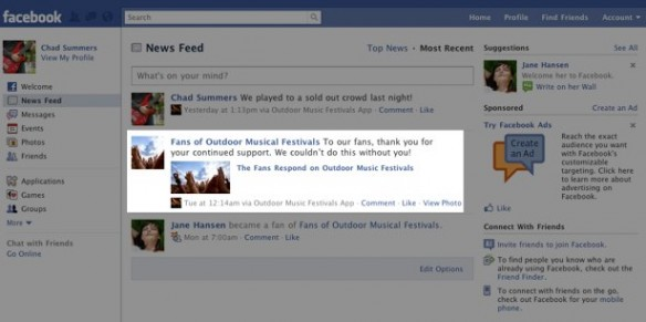 Facebook Integration on Your Network 7