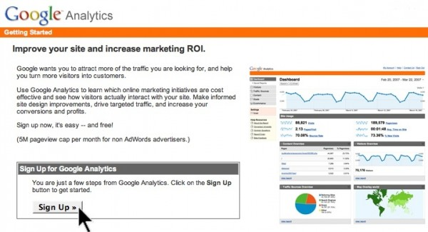 Set Up Google Analytics 1