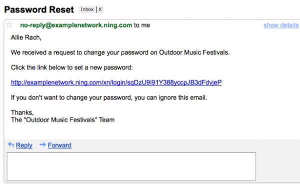 how to change my email password if i forgot it