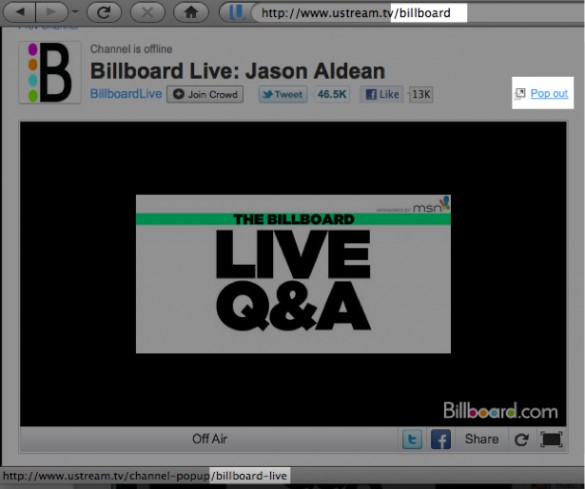 Broadcast Live Video with Ustream 4