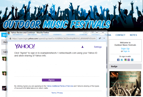 Enable Social Sign In with Yahoo! | Ning Help Center