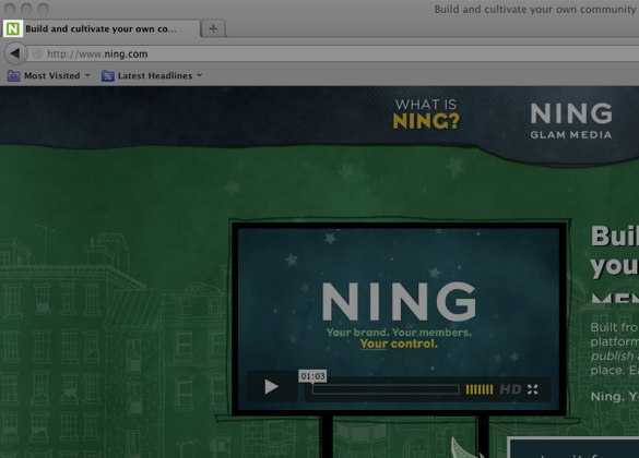 Build and cultivate your own community of - Ning.com