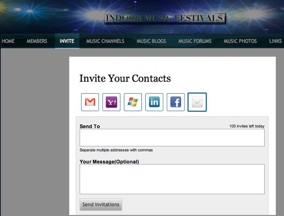 Invite Your Contacts as a member