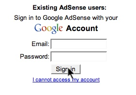 how to sign adsense