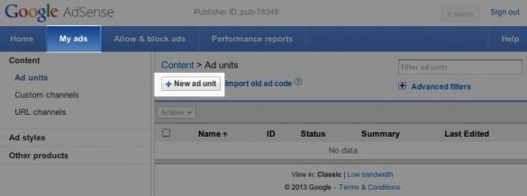 Sign Up for Google AdSense 3