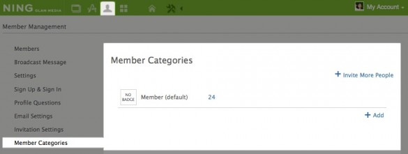 Member Categories