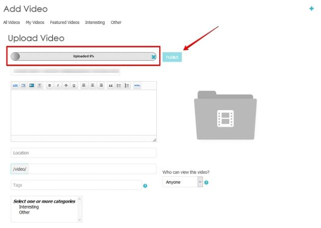 Adding Videos 2