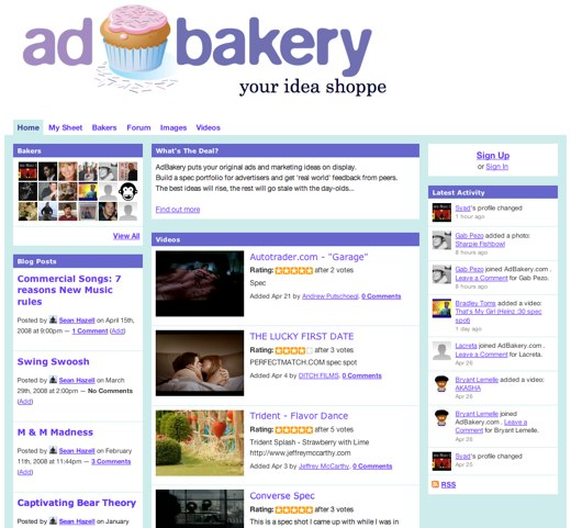 Cooking up ideas at AdBakery
