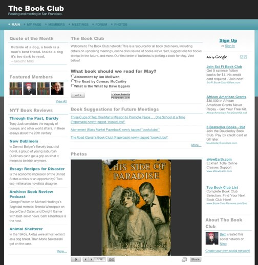 Bring your book club online