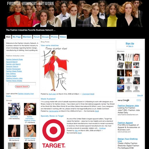 Get hip with the Fashion Industry Network