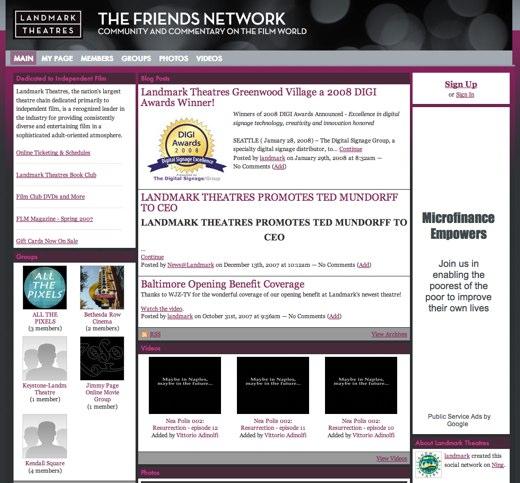 Friends of Landmark Theatres