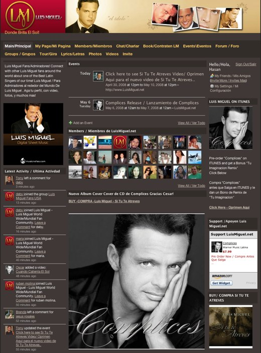 A closer look at the fans of Luis Miguel