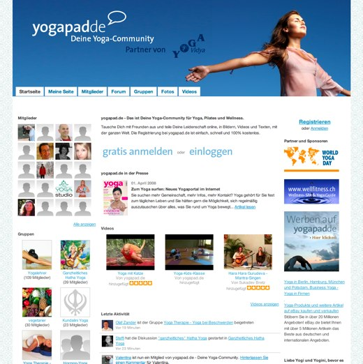 Get comfortable at Yoga Pad