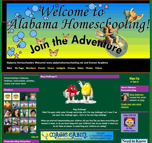 Learning with Alabama Homeschooling