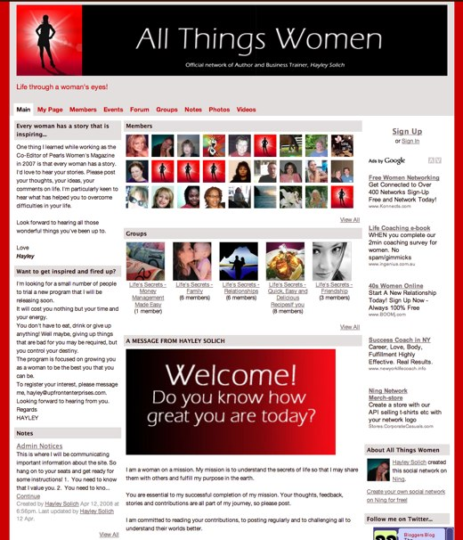 All Things Women