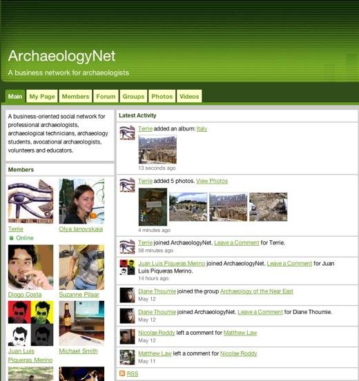 Digging ArchaeologyNet