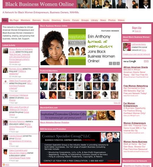 Black Business Women Online