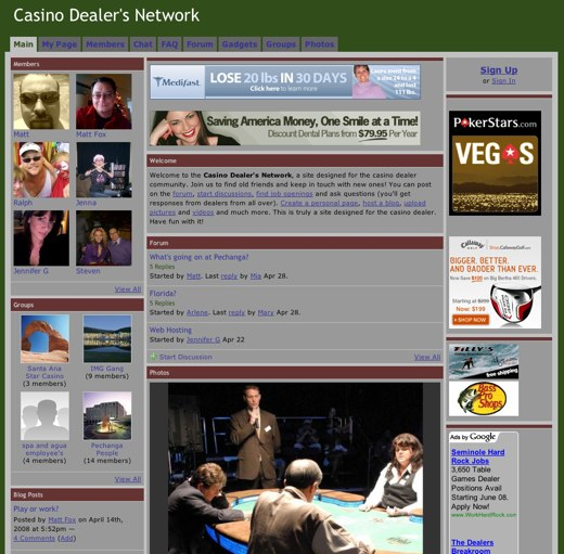 Learn the ropes at the Casino Dealer's Network
