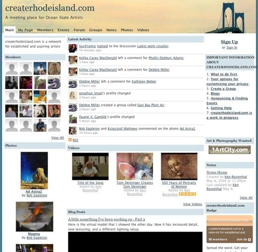Burst of creativity at CreateRhodeIsland