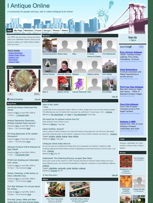 I Antique Online: For antique collectors