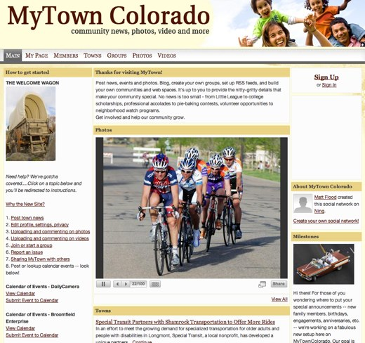 A home for Colorado's towns