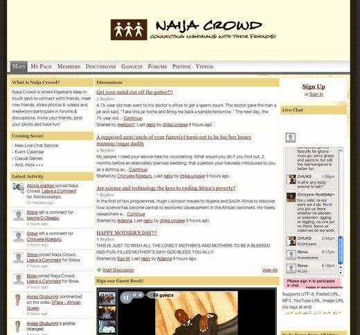 Connecting Nigerians at Naija Crowd