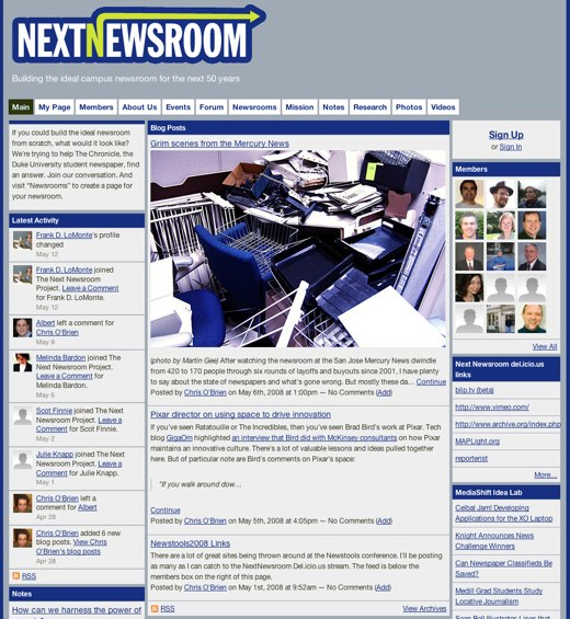 Shaping the NextNewsroom