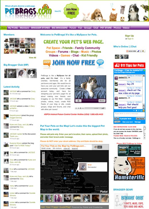 Getting in touch with Petbrags.com