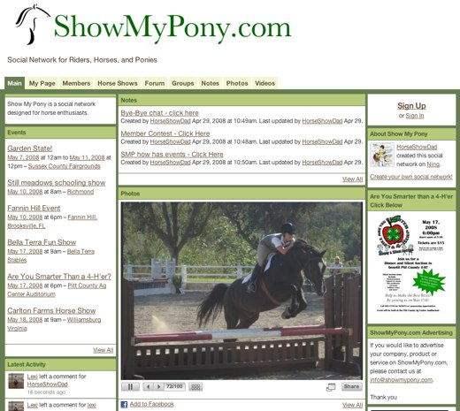 Riders unite at ShowMyPony
