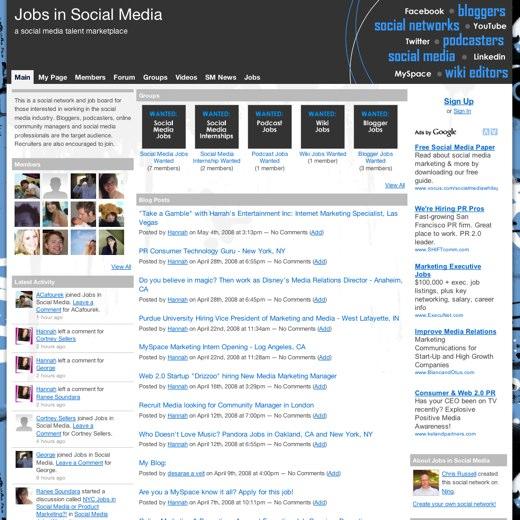 Landing a Job in Social Media