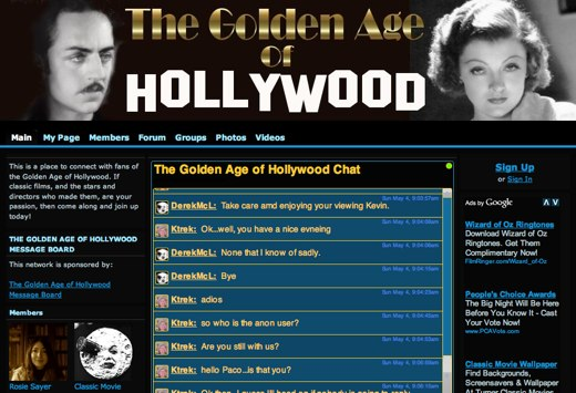 Relive The Golden Age of Hollywood