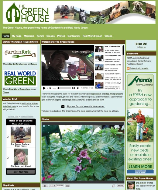 Live green with The Green House