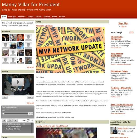 Manny Villar for President