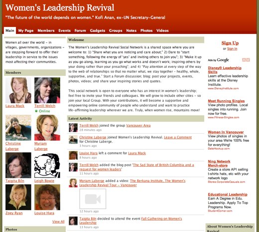 Uniting women in leadership
