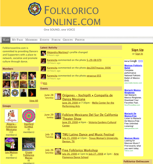 Dance and Culture Come Alive at FolkloricoOnline.com