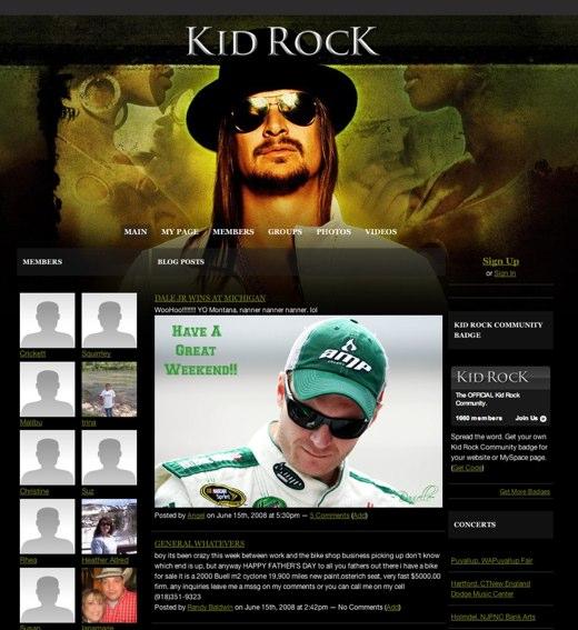 Kid Rock comes calling